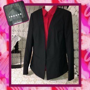 Trouvé Black Women's Blazer Size L